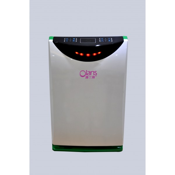 Home air purifier filter with Photocatelyst filter with HEPA filter with humidifier with UV Lamp